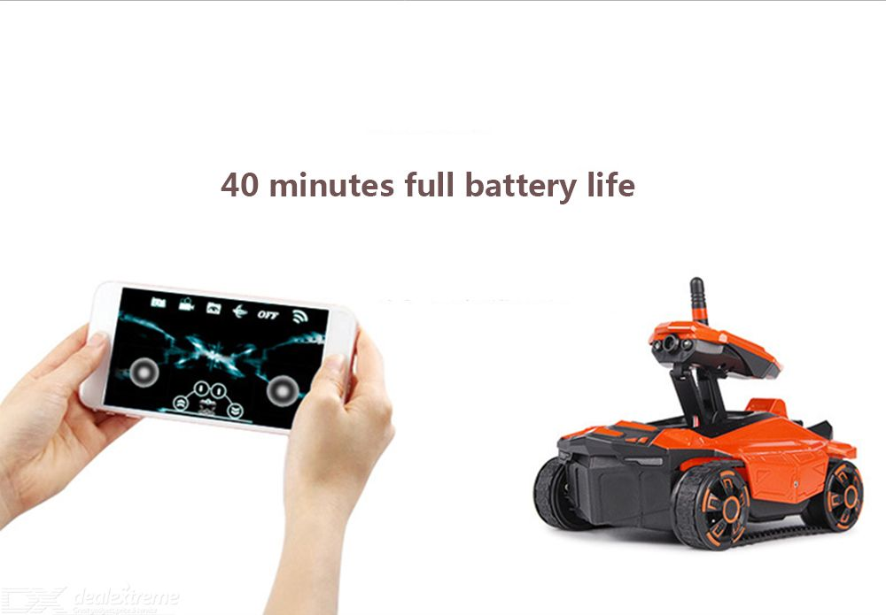 Yade 211wifi HD Map Transmission Time Remote Control Car Real Apple Android  Tank Video Car Factory Direct Sales