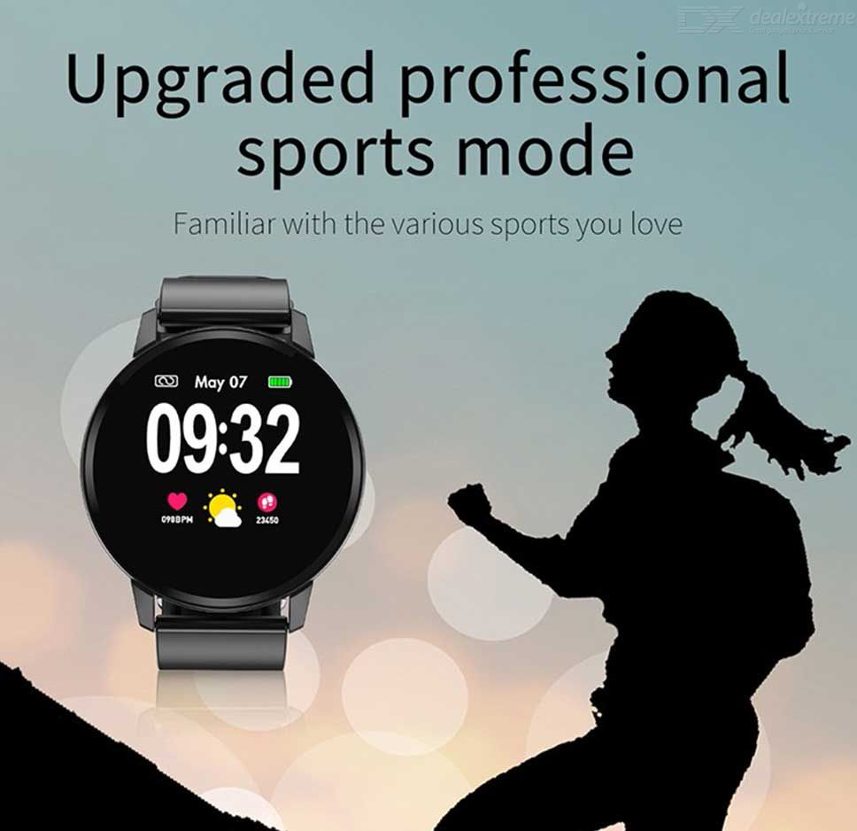 S01 Full Touch Screen Smart Bracelet Heart Rate Blood Pressure Monitor IP67  Waterproof Sports Wristband