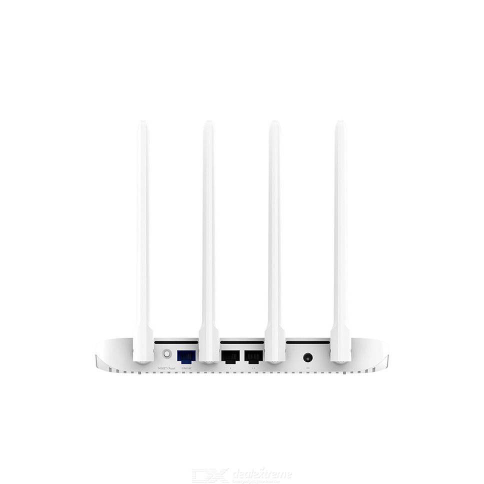 Wi-Fi Router Wireless Internet Router for Home Four-Antenna 4-Port AC06 1 Set