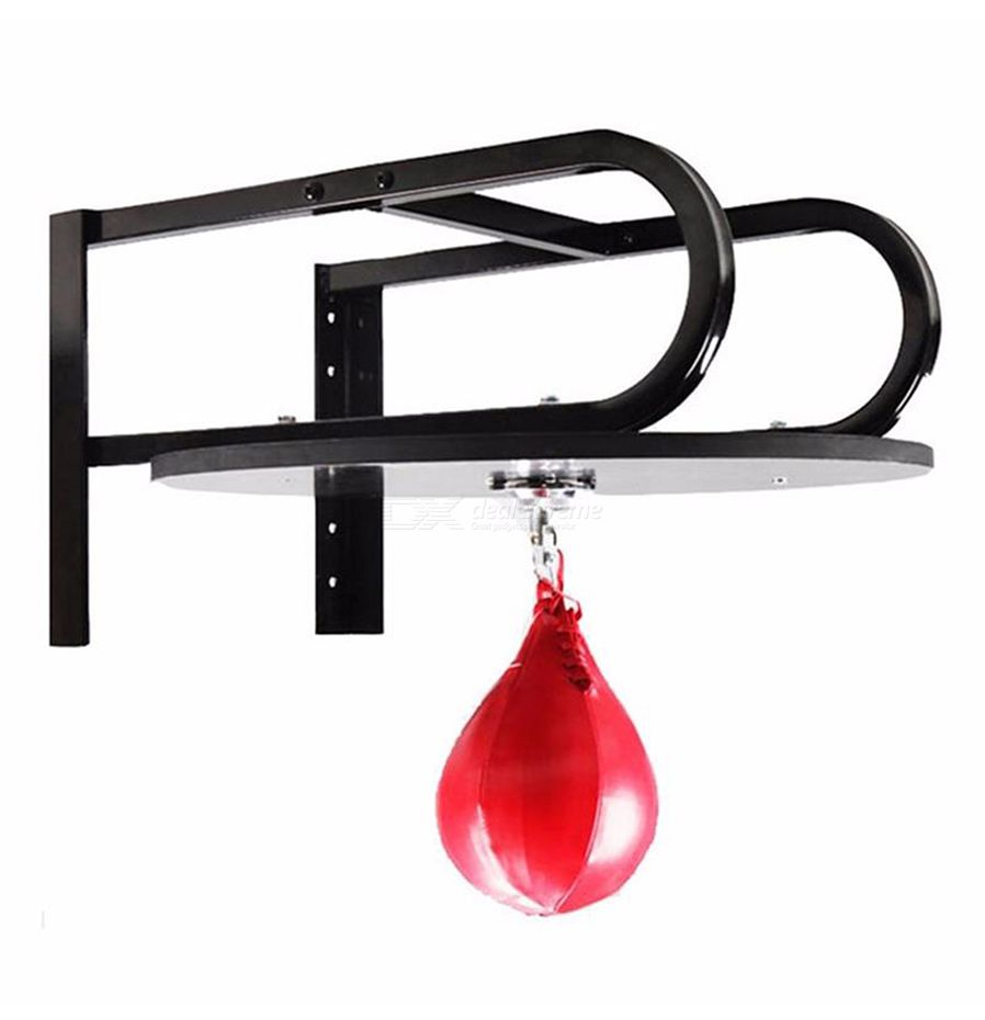 30A2 Boxing Pear Shape PU Punching Speedball Speed Punch Fitness Training Ball