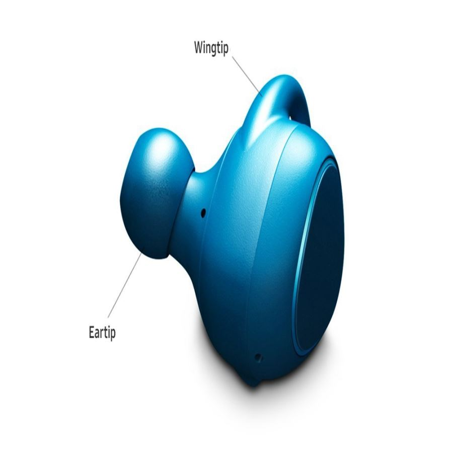 Earbuds blue color - earbuds white bluetooth