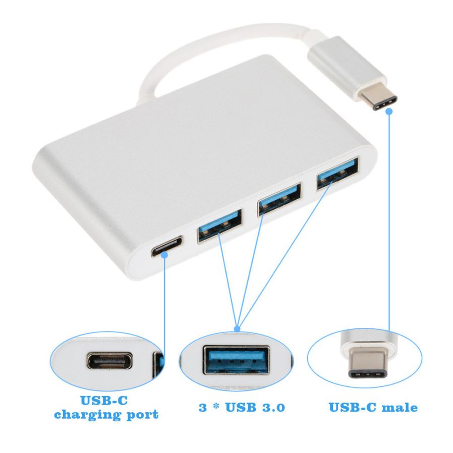 Usb 31 Type C To Hdmi 3 30 Ports Pd Extender Adapter Orico 20 Hdd Case Material Aluminum Alloy Compatible With Oneplus Two 2 A2001 New Macbook 116 12 133 Inch Nokia N1 Tablet Google Pixel Chromebook 2015