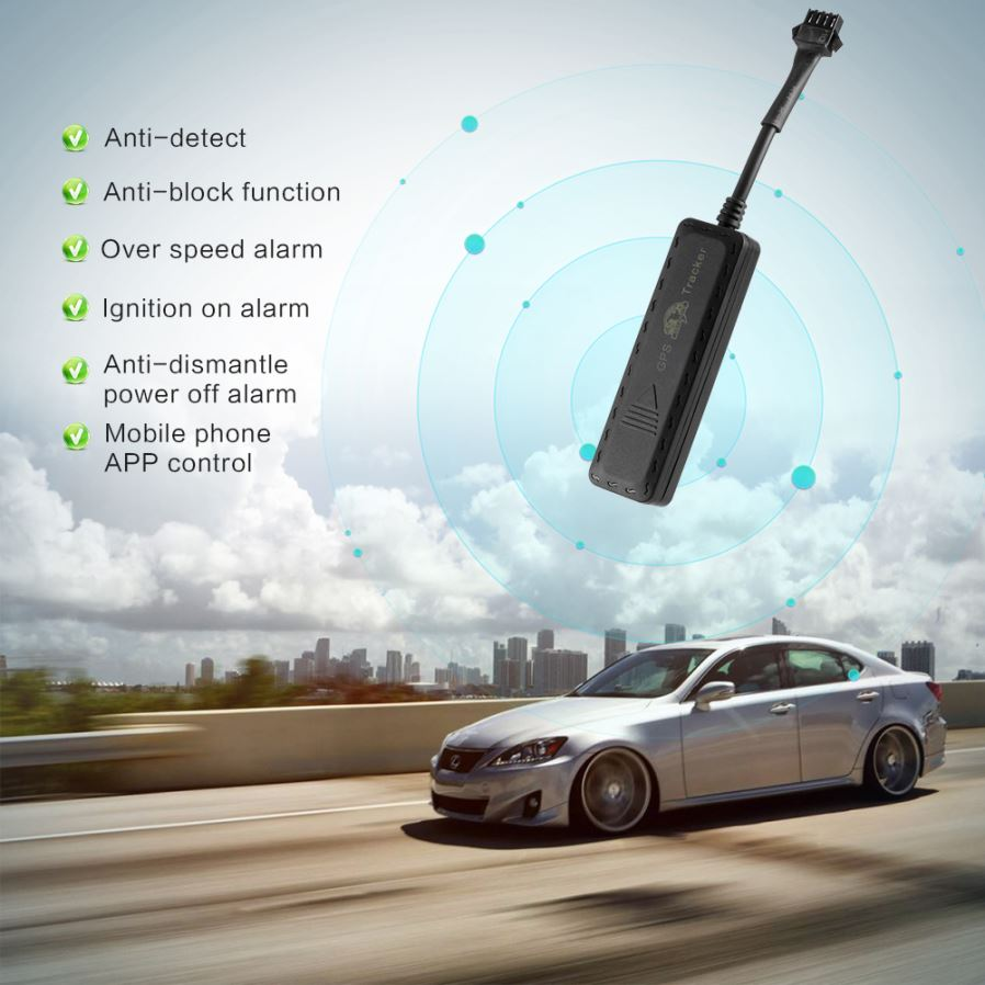 Mini G900 Car Motorcycle Realtime Tracking Device System, GPS Tracker
