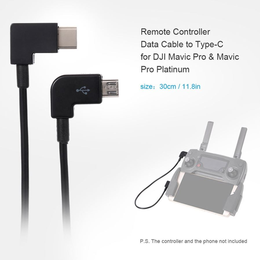 Cy Uc 055 Remote Controller Type C To Micro Usb Data Cable