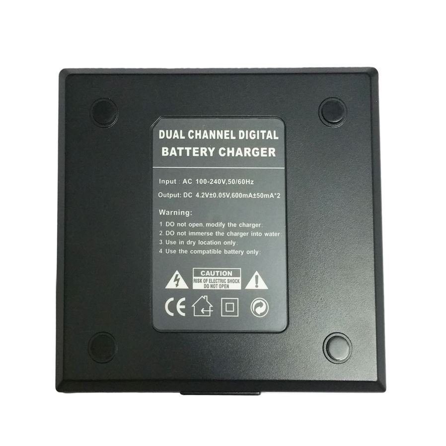 Bk1 Digital Camera Battery Dual Charger For Sony Bk1 W190