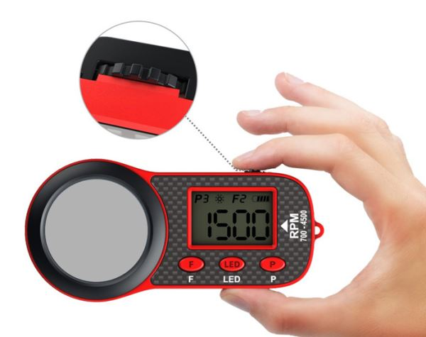 fr p skyrc sk  optical tacter opt w d glass screen black red