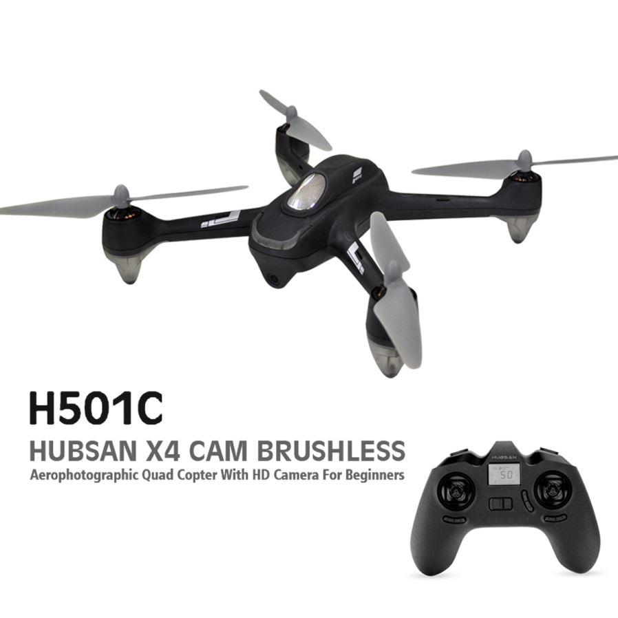 how to set up the hubsan x4 drone
