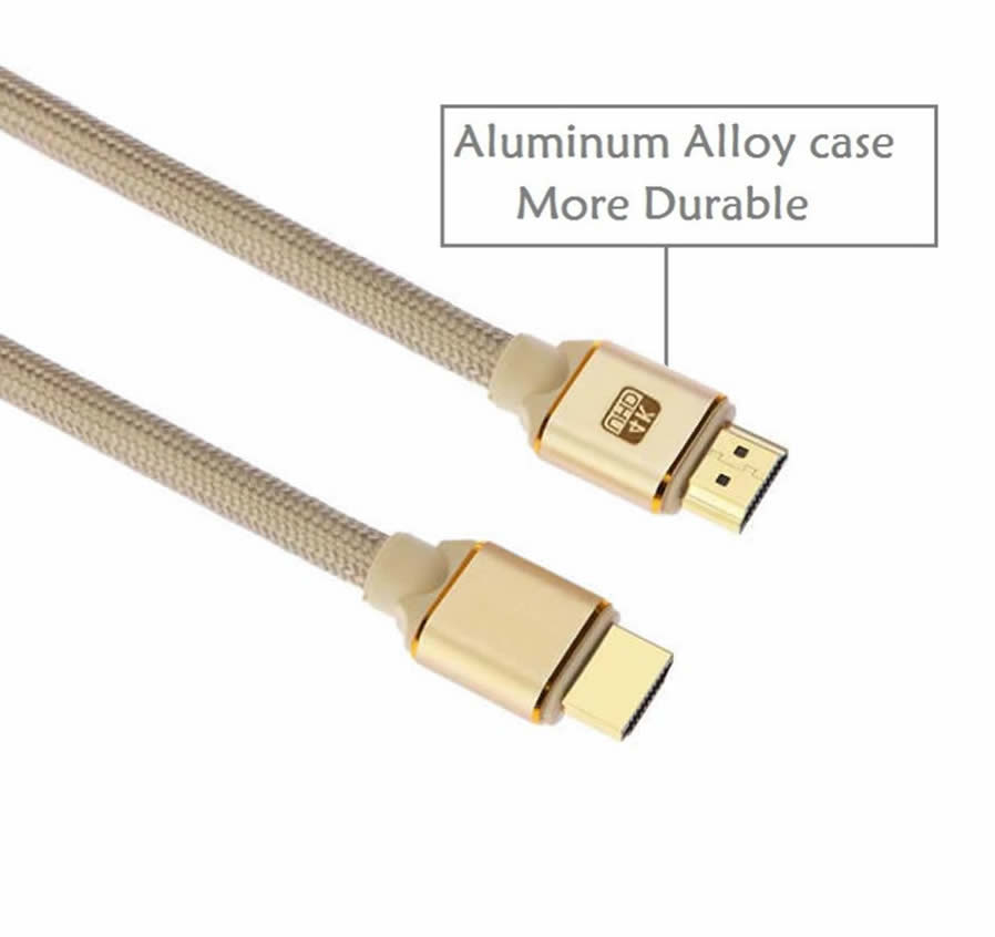 Cwxuan HDMI Male to HDMI Male 2.0 4K 3D Cable for HD TV LCD Laptop ...