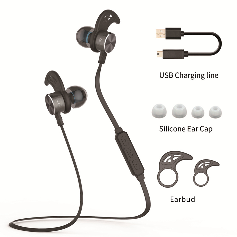 Neck earphones bluetooth speaker - Cobra In ear Headset with In-Line Microphone Overview