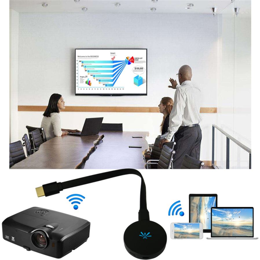Maikou 5Ghz MiraScreen G6 TV Stick Dongle, Anycast Crome Cast HDMI Wi-Fi  Display Receiver