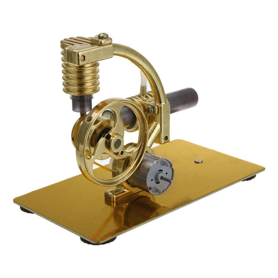 Maikou Metal Steam Engine Stirling Engine Model Generator With Bulb