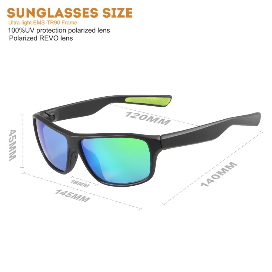 MOBIKE Polarized REVO UV Protection Cycling Goggles ...