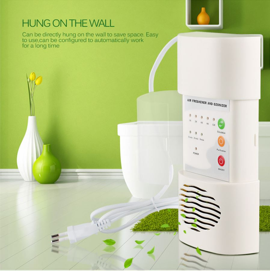 Air Ozonizer Purifier Home Deodorizer Ozone Ionizer Generator 3g H 220v Tube Circuit Board And Water Applying The Principles Of Natural Lightning Discharges This Product As Raw Material High Frequency Voltage Discharge Rapid Manufacturing