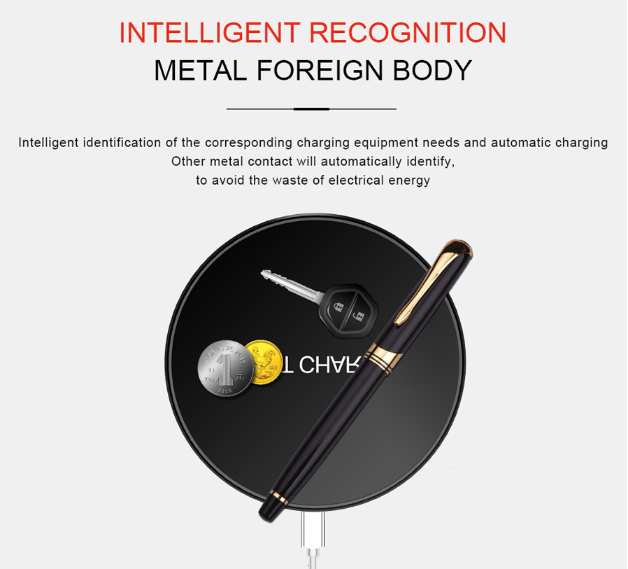 D10 Slim 10W Fast Charge Wireless Charger for Qi-Enabled ...