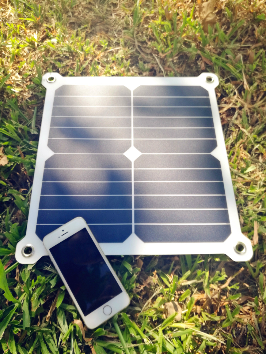 Sunwalk 13w High Efficiency Outdoor Sunpower Solar Panel Charger Free Shipping Dealextreme