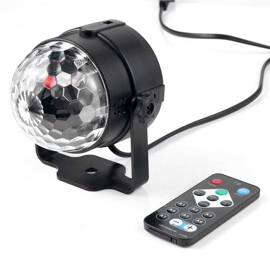 Youoklight Led Rgb Rotating Dj Disco Party Ball Light Eu Plug Us Mannequin Costume Lighting And Wearable Electronics Please Pay Attention Before You Use The Remote Control Pull Out Transparent Divider Under Then Can It Perfectly