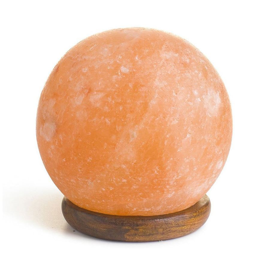 Do Salt Lamps Get Wet : YouOKLight Round Hand Carved USB Wooden Base Himalayan Crystal Rock Salt Lamp, Air Purifier ...