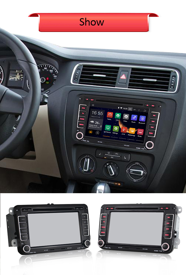 android 4 4 4 car dvd stereo w fm am radio for. Black Bedroom Furniture Sets. Home Design Ideas