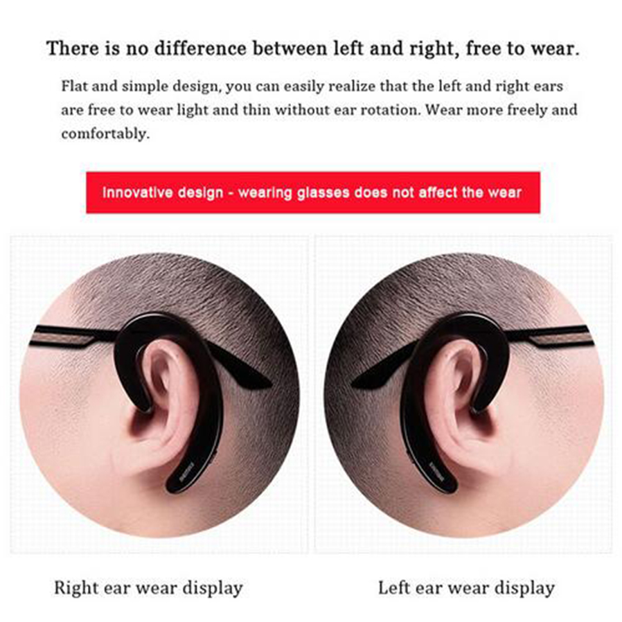 Earbuds with microphone earhook - low earbuds microphone