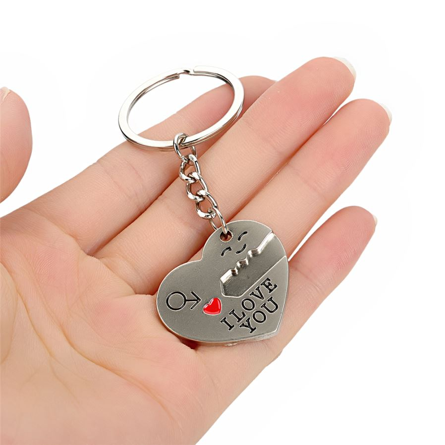Heart-shaped Valentine s Day Keychain Favors Wedding Souvenirs men and women  key ring Gifts Shape Style Casual Sporty Item Type Key Chains 8d6c85fa87