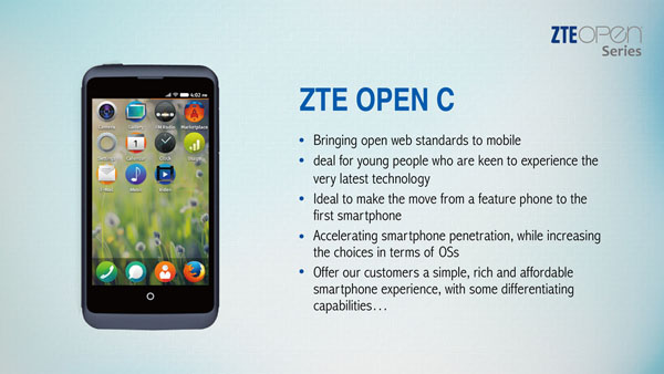 products default, android en zte open Lammers have