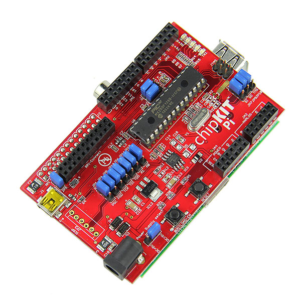 Compatible chipkit pi for raspberry based on