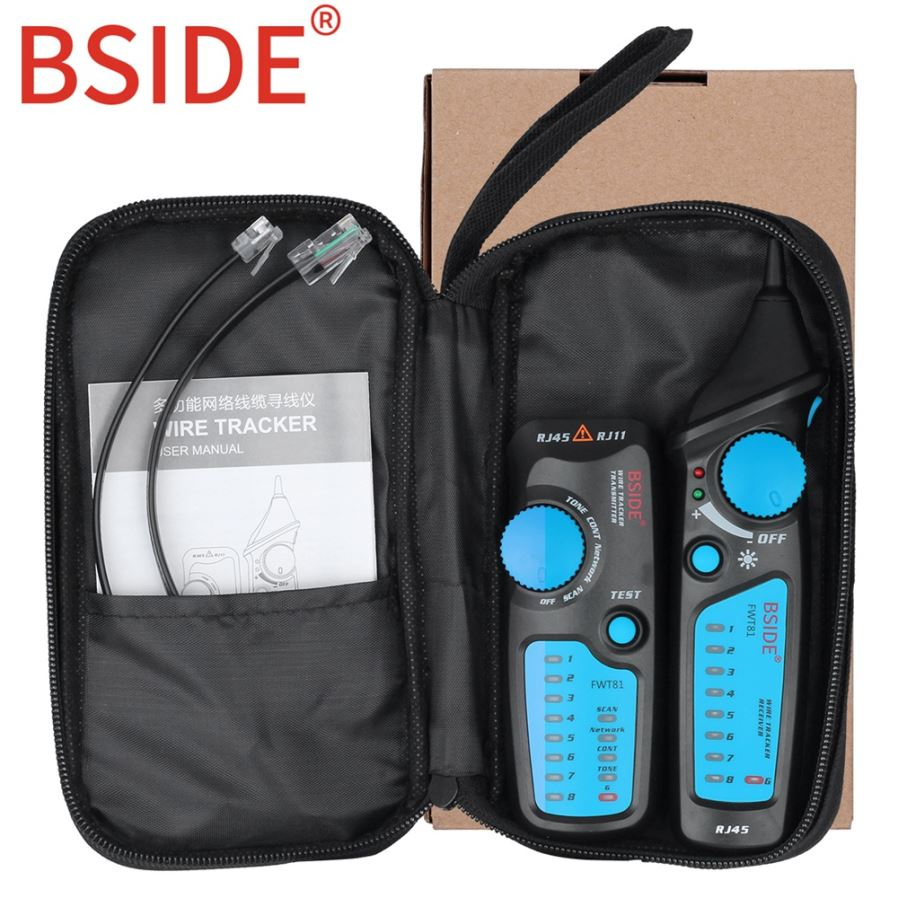 Bside Fwt81 Cable Tracker Rj45 Rj11 Telephone Wire Network Lan Tv Short Open Finder Auto Circuit Detector Car Wiretracker Repair Tool General