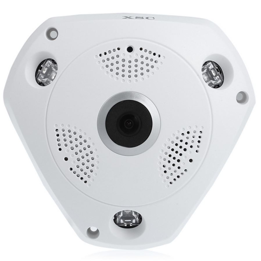 XSC Wireless Wi-Fi Wired Network Interface Dual-use Indoor IP Camera ...