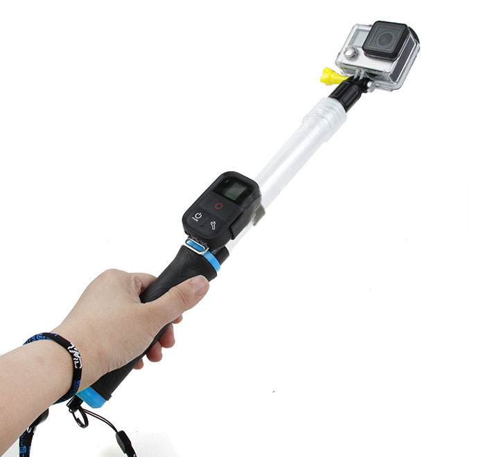 how to use gopro selfie stick without remote