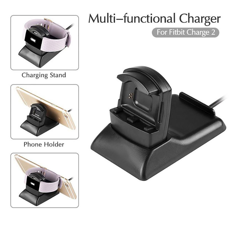 Measy Fitbit Charge 2 Charging Stand Dock Station Cradle