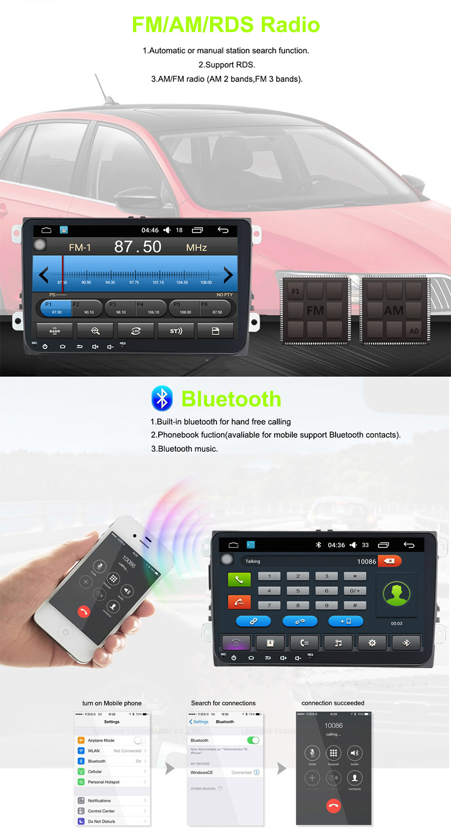 Funrover 9 1024 X 600 Android 60 Car Player Stereo For Vw Skoda Displaying 16gt Images Body Parts Diagram This Model Does Not Have Dvd Sd Slot Include Canbus Already No Extra Charge Support Steering Wheel Controlac Climate