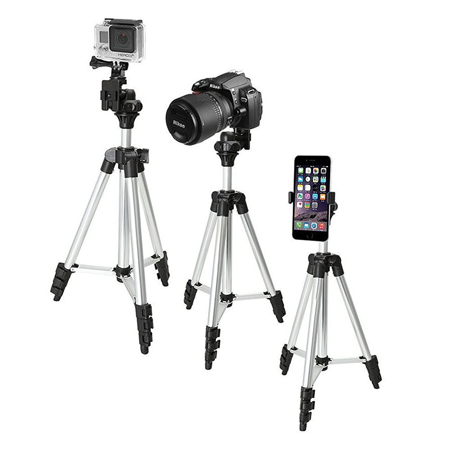 Wt 3110a Adjustable Digital Camera Cellphone Tripod Stand For Dslr Weifeng Portable 4 Section Aluminium Legs With Brace Free Shipping Dealextreme
