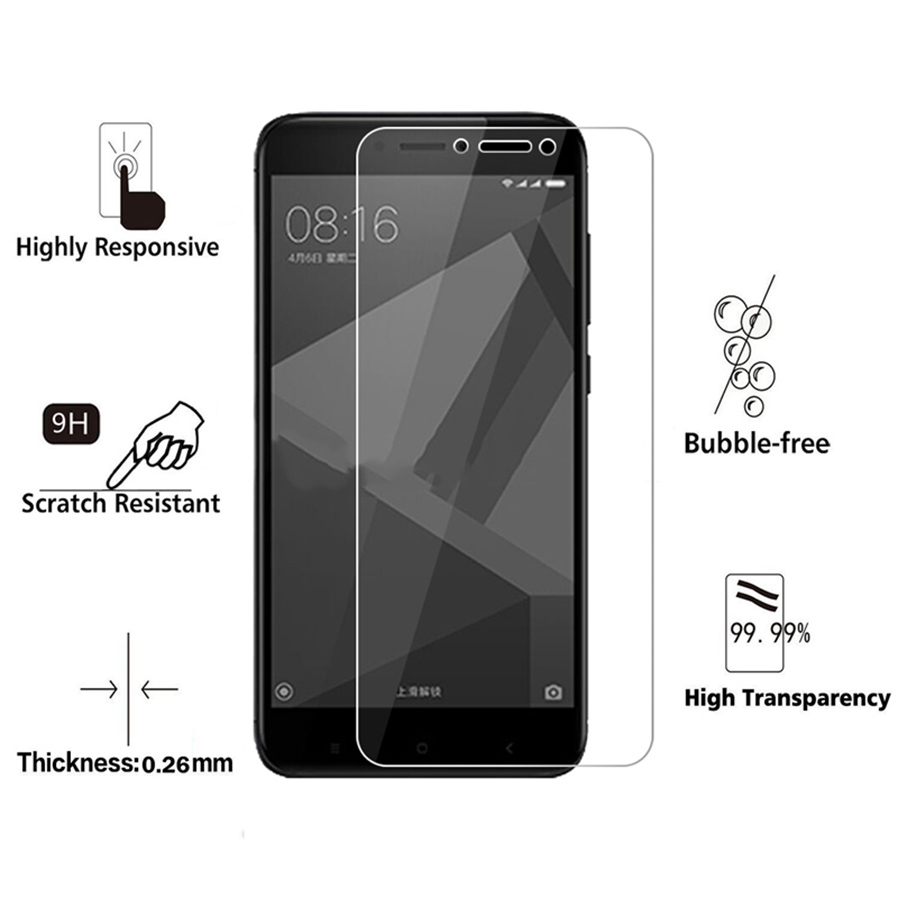 Naxtop Tempered Glass Screen Protector for Xiaomi Redmi Y1
