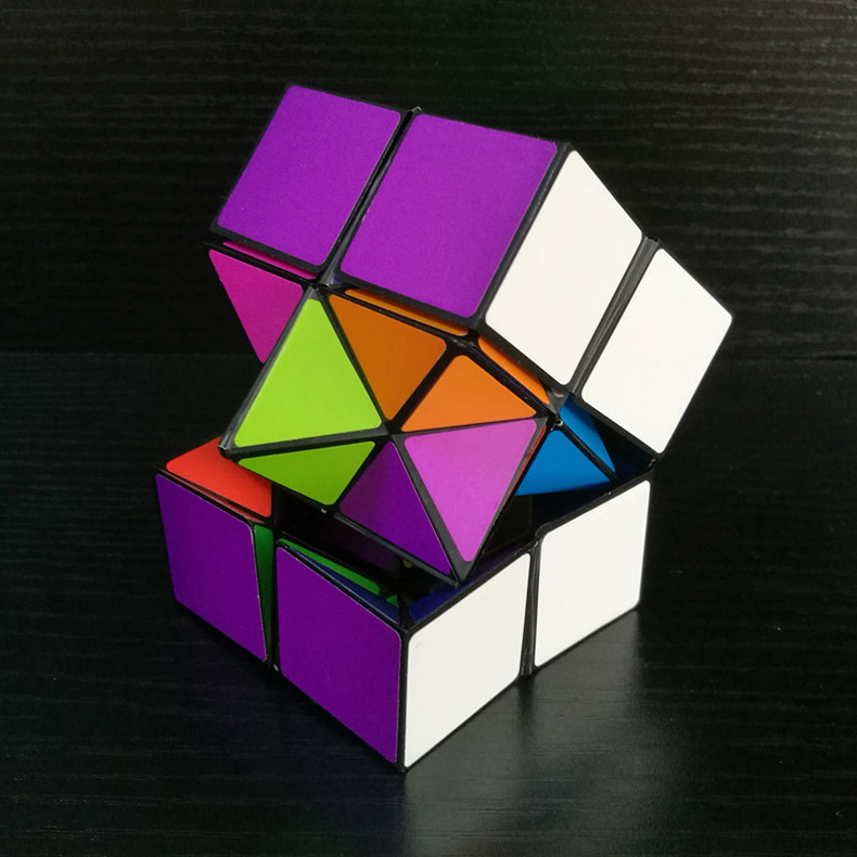 ZHAOYAO Infinite Rubik's Cube Playing Toy for Kids - Multicolor