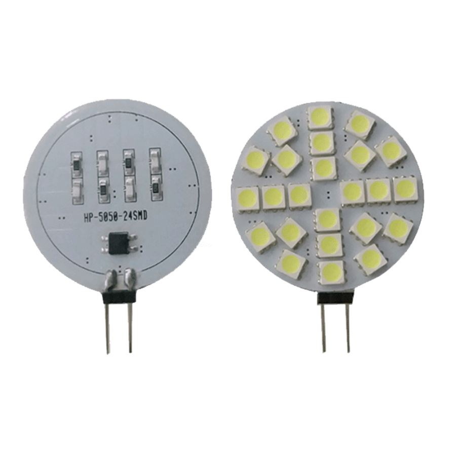 G4 3w 24 5050 Smd Led Ceiling Lamp Light Bulb Warm White Arduino Camping With Dimmer Angle 180 Product Size 6 Lights 239 2512 3024 43mm Material Pc Board Number 691224