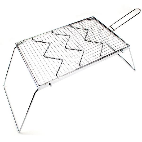 Out D Portable Bbq Folding Stainless Steel Grill For Outdoor Cooking