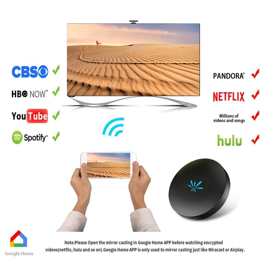 mirascreen g4 tv stick dongle anycast cast hdmi wifi display
