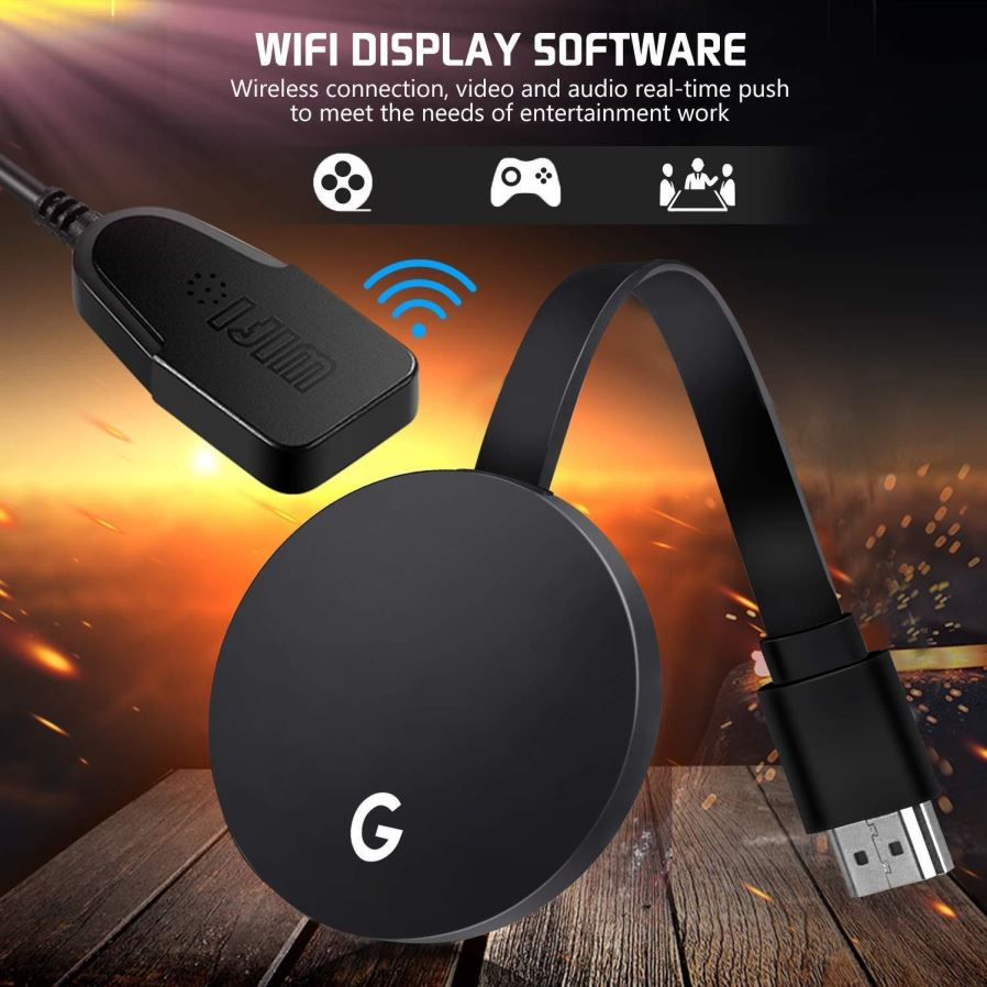 G5 Wireless WiFi Adapter Display Dongle Receiver 1080P HD Anycast