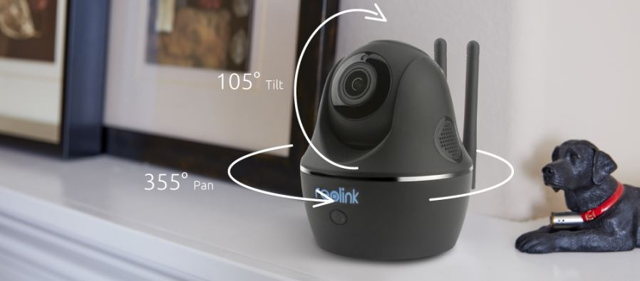 Reolink 4MP HD Pan/Tilt 2 4/5Ghz Dual Band WiFi Indoor Wireless Home  Security IP Camera(C1 Pro)