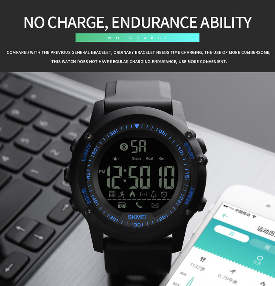 Feature: Remote Camera / Call Reminder / Message Reminder / APP Reminder / Pedometer / Calories / Distance / Chronograph / AIMS / Bluetooth /Low Battery ...