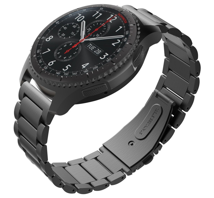 With stainless steel lugs on both ends,which locks onto your watch band interface precisely and securely.