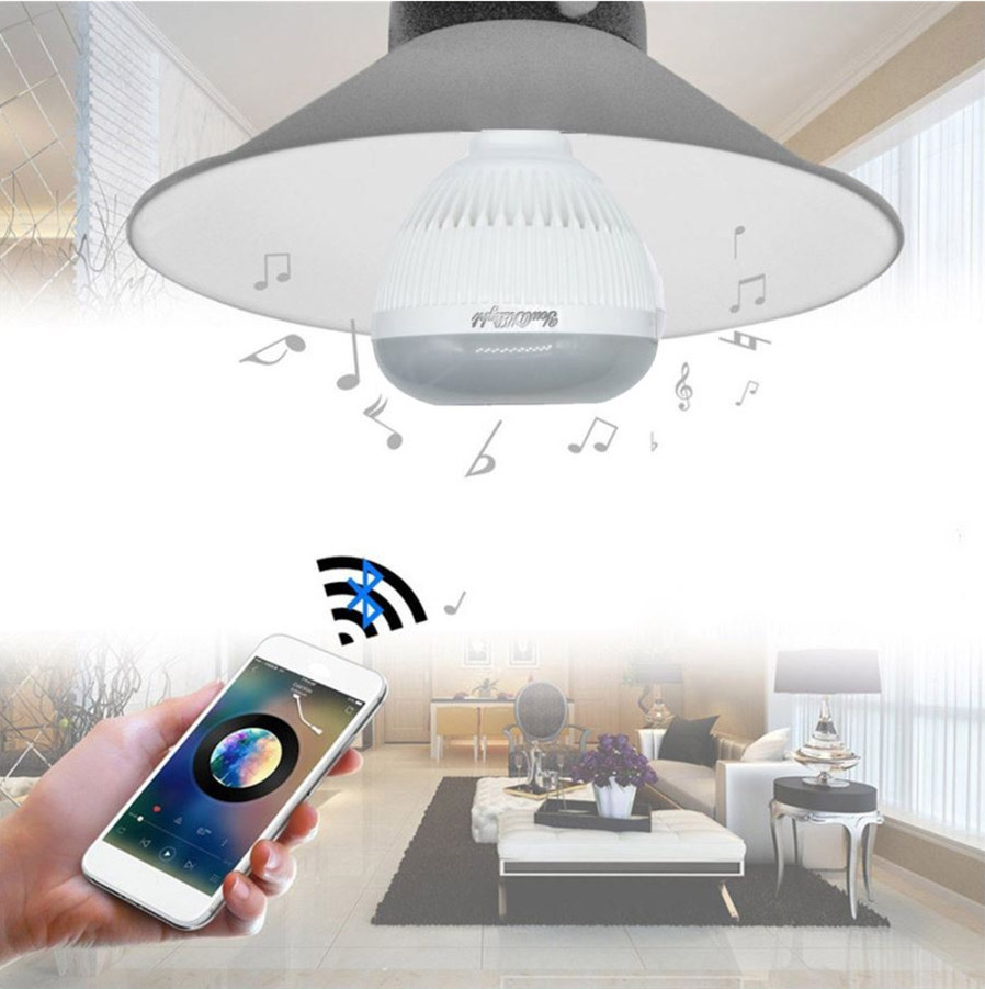 Youoklight E26 E27 6w Bluetooth Rgb Music Lamp W Remote Upang Bulb Replacement 1 Infrared 2 Uv And 24 Keys Smart Controlconnect With Our Bulbspice Up Your Daily Life At Ease
