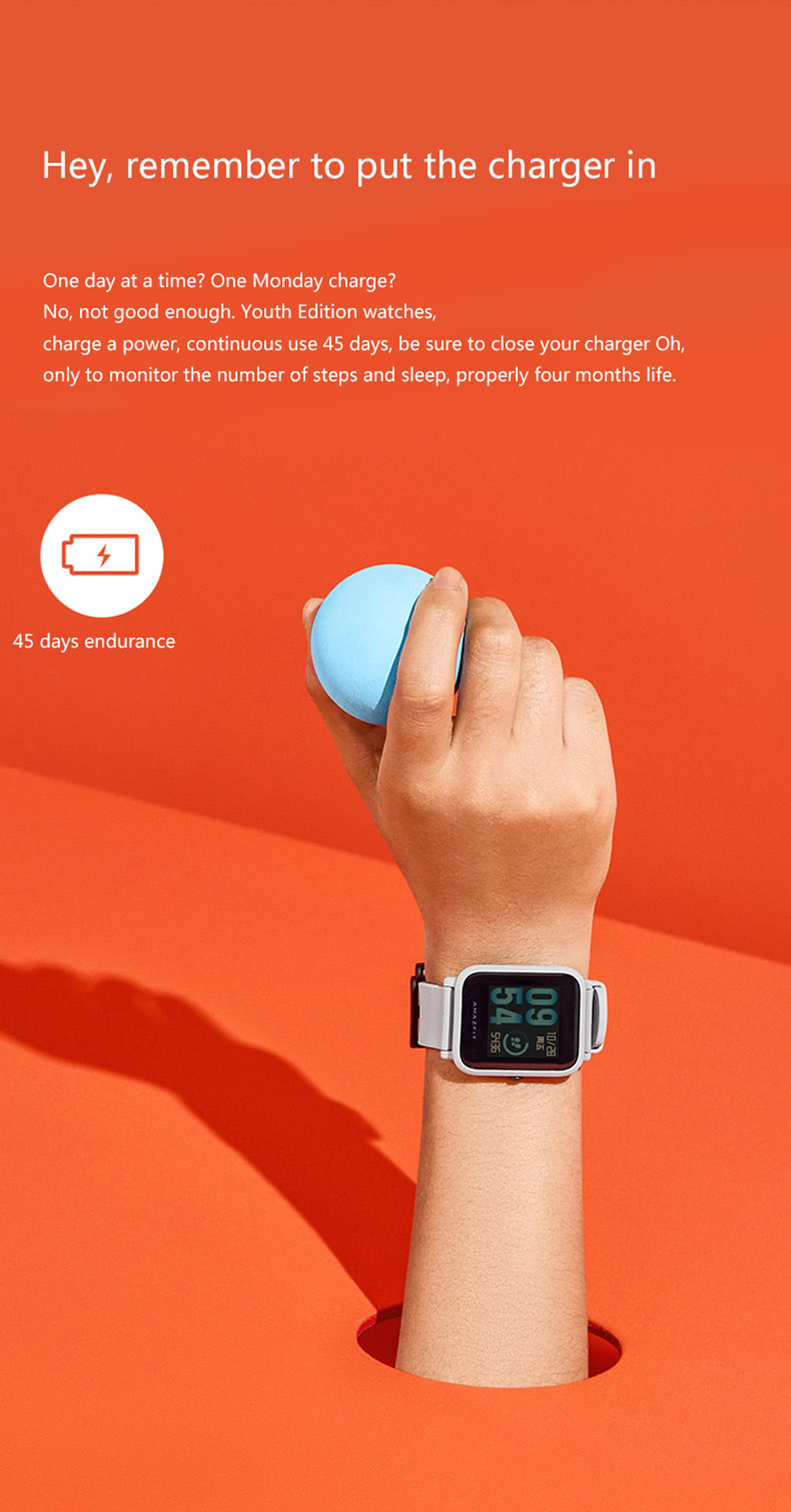 Xiaomi Amazfit Bip Youth Edition Sports Smart Watch In