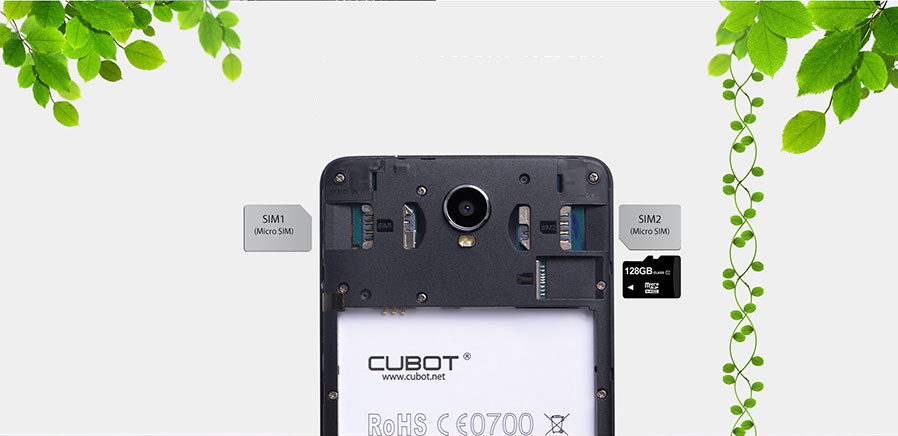CUBOT MAX 6 0 Octa-Core Android 4G Phone w/ 3GB RAM, 32GB ROM