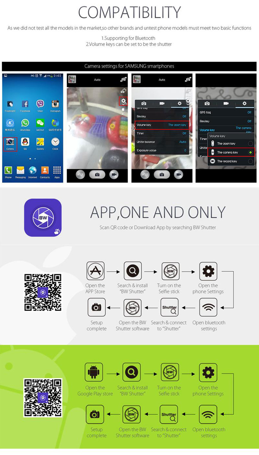 how to use monopod for phone