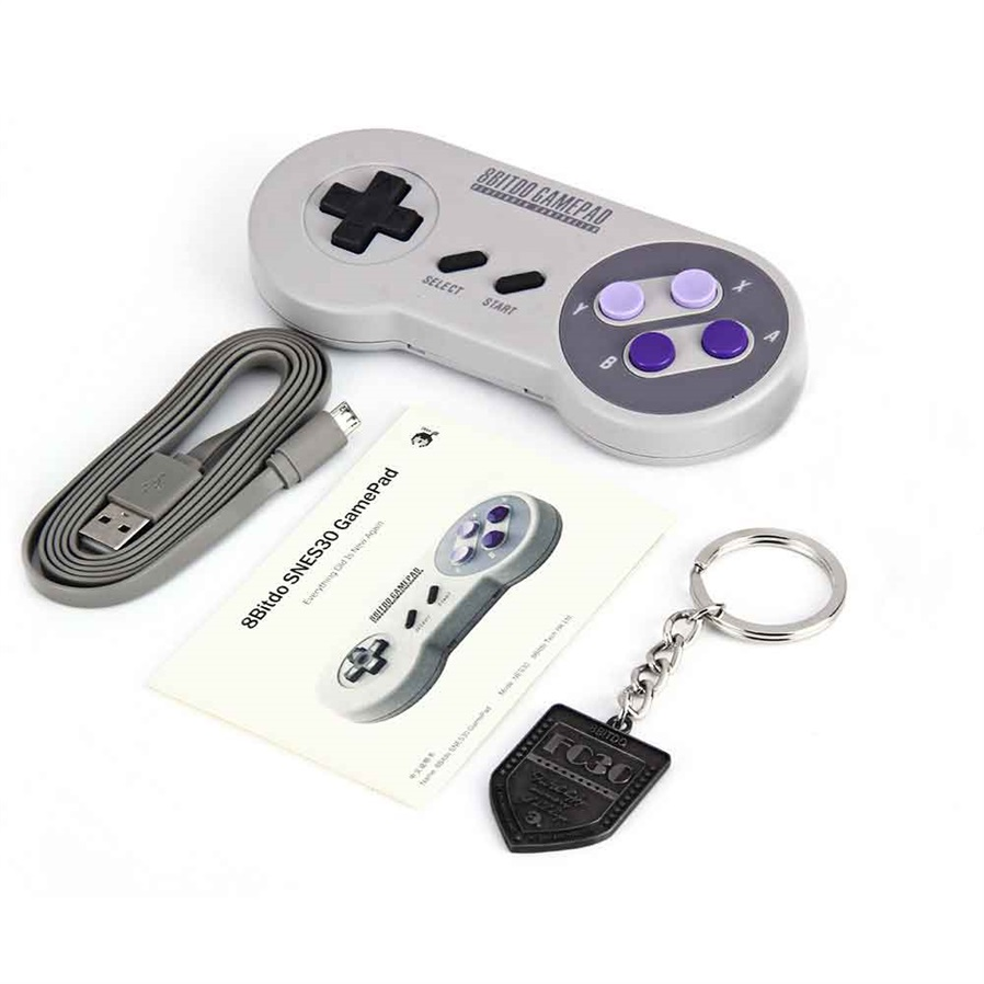 Snes30 Pro Wireless Bluetooth Controller Gamepad Dual Classic 8bitdo Fc30 Wifi For Android Ios Pc General