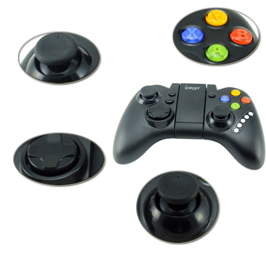 Ipega Pg 9021 Wireless Bluetooth Game Controller Black Mobile Gaming 30 For Android And Ios 6 Compatible Models Cell Phone Tablet Pc With Function 7 Supported Os Windows