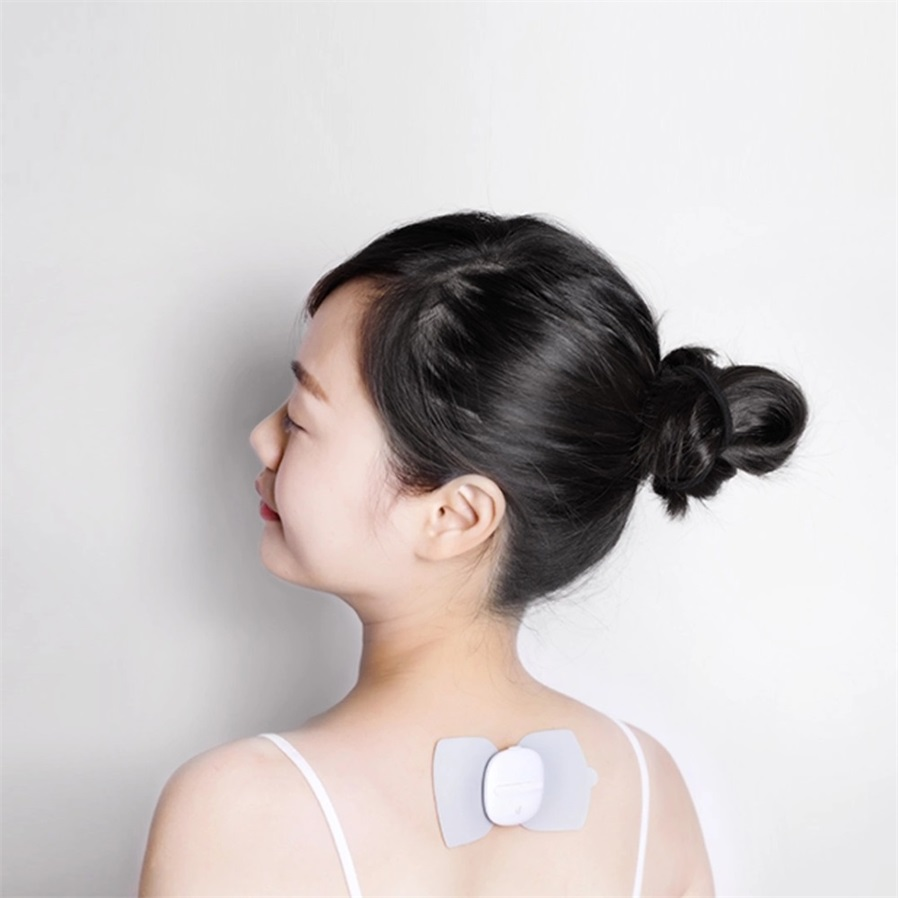 Xiaomi Mijia Electrical Stimulator Body Relax Muscle Massager Leravan Magic Massage Pad This Mini Portable Sticker Is Made By Ecological Chain Brand Leravanlf There No Any Marks On The Products Pls Note It