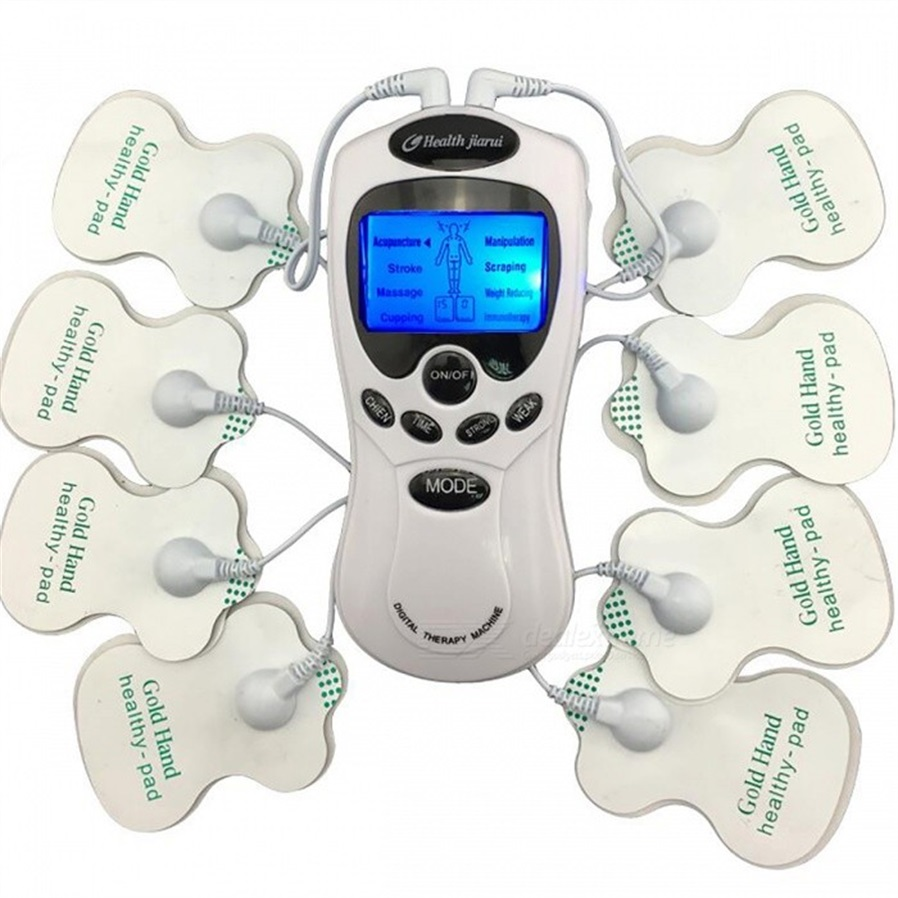 Digital Meridian Therapy Massager Machine with Electrode Pads - Free ...