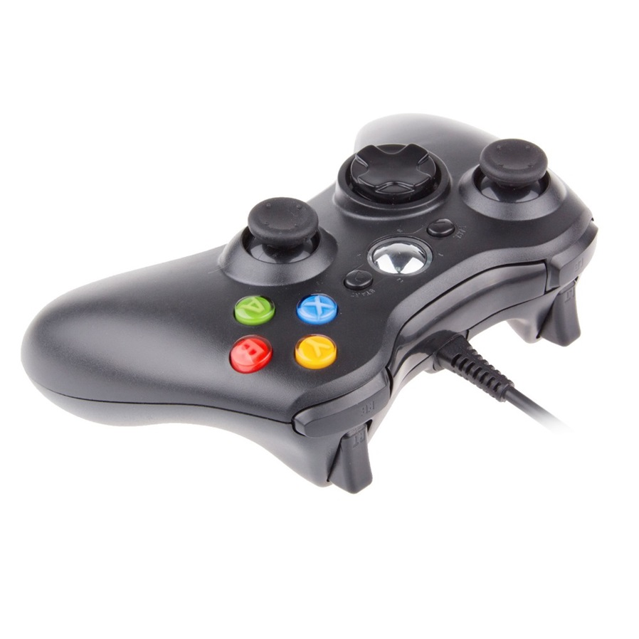 USB Wired Gamepad Controller for Microsoft Xbox 360 WII PS3 Slim PC ...